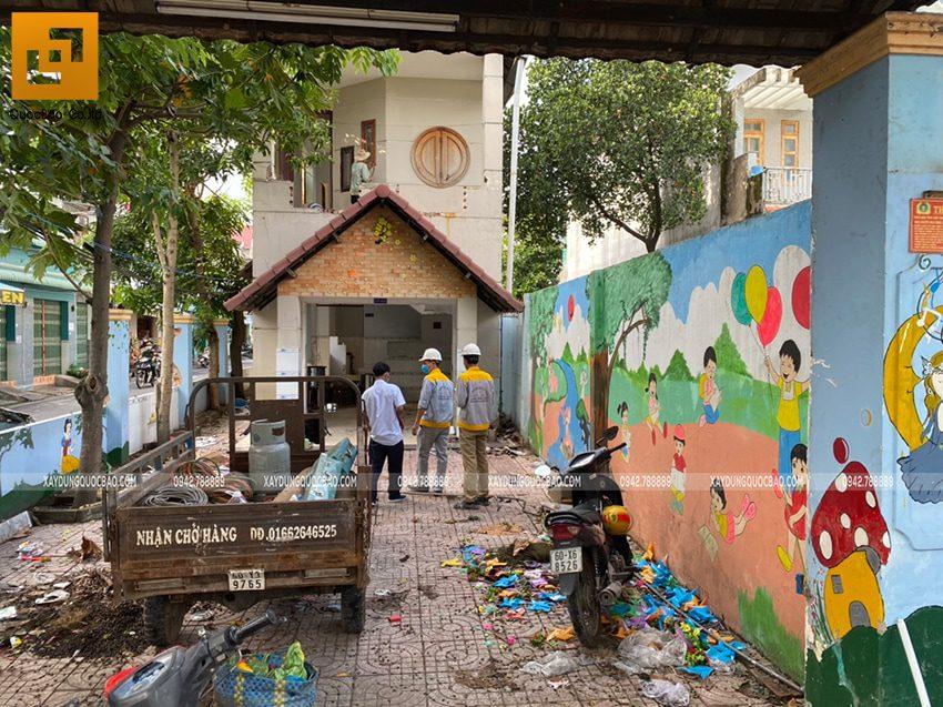 Khởi công biệt thự 4 tầng mặt tiền 7m tại Biên Hòa - Ảnh 2