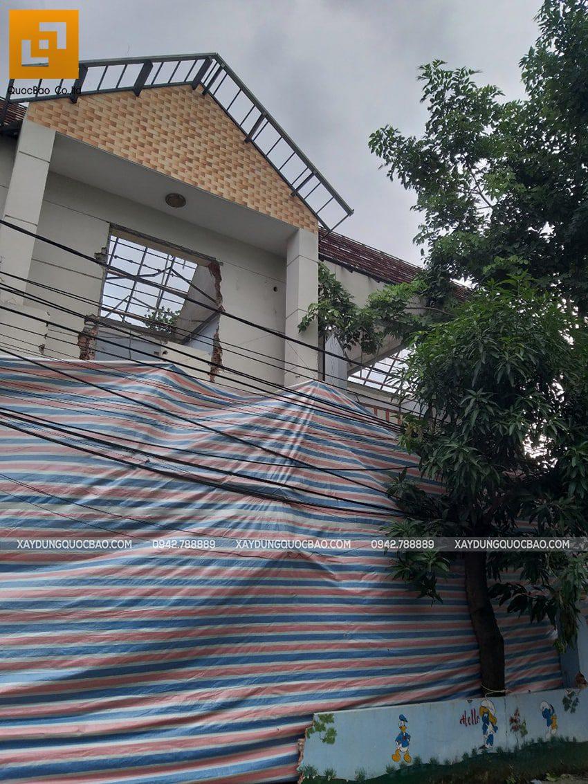 Khởi công biệt thự 4 tầng mặt tiền 7m tại Biên Hòa - Ảnh 3