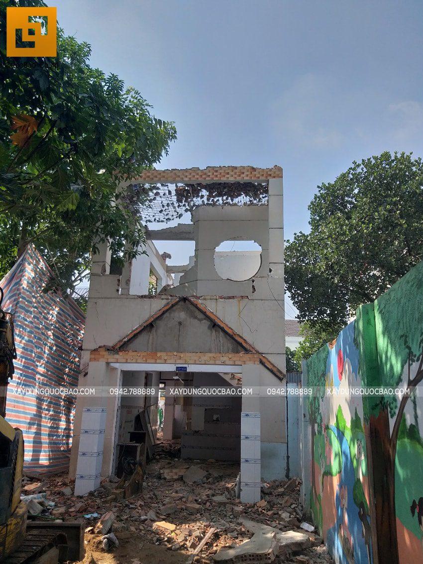 Khởi công biệt thự 4 tầng mặt tiền 7m tại Biên Hòa - Ảnh 4