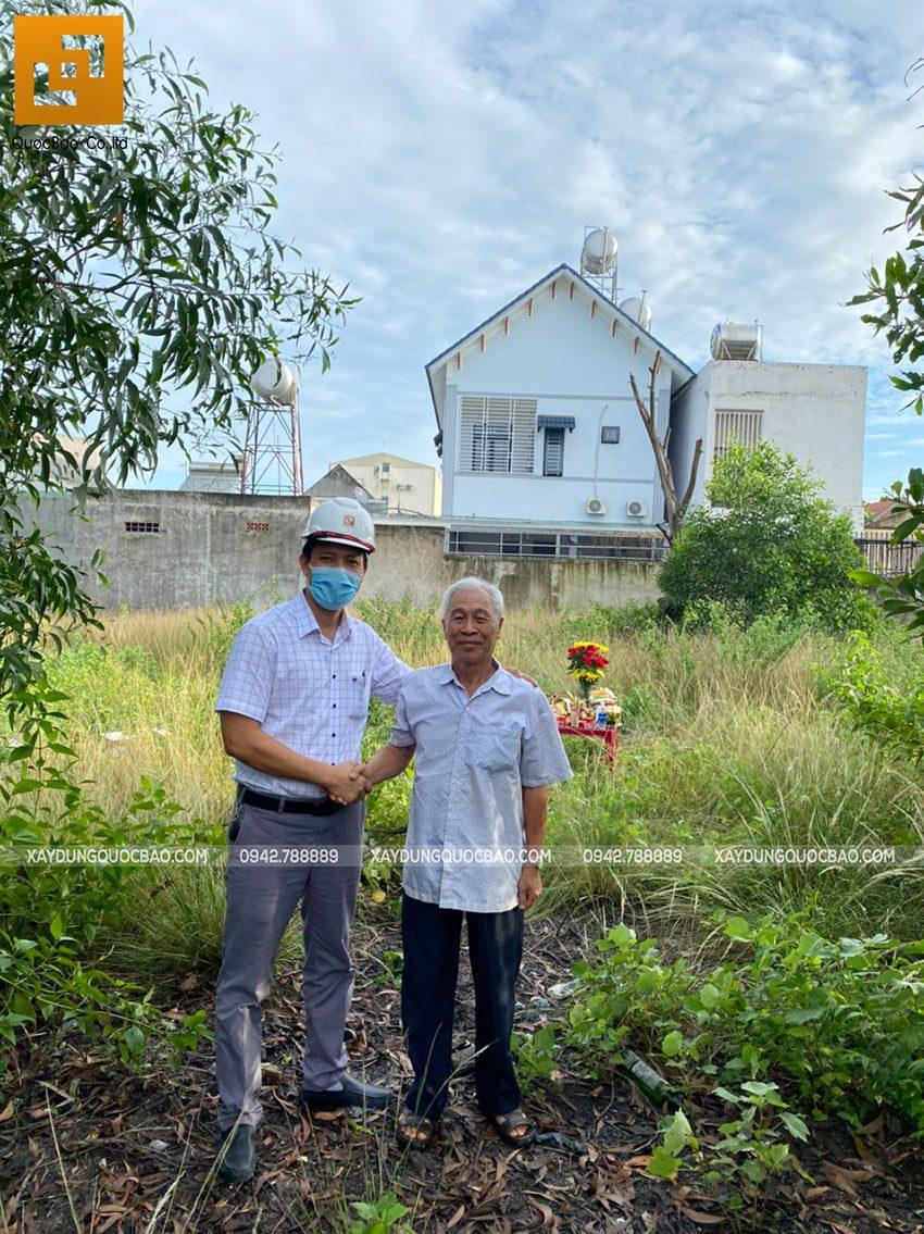 Khởi công biệt thự 2 tầng gia đình anh Quang tại Long Thành - Ảnh 1