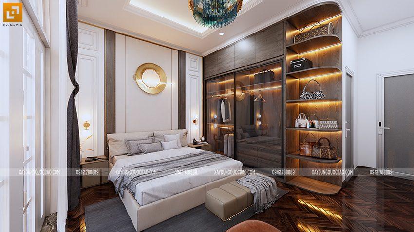 Không gian nội thất phòng ngủ master - Ảnh 2