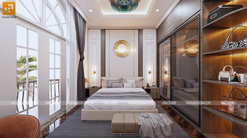 Không gian nội thất phòng ngủ master - Ảnh 1