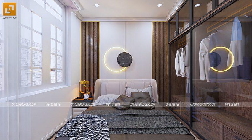 Nội thất phòng ngủ tầng trệt - Ảnh 2