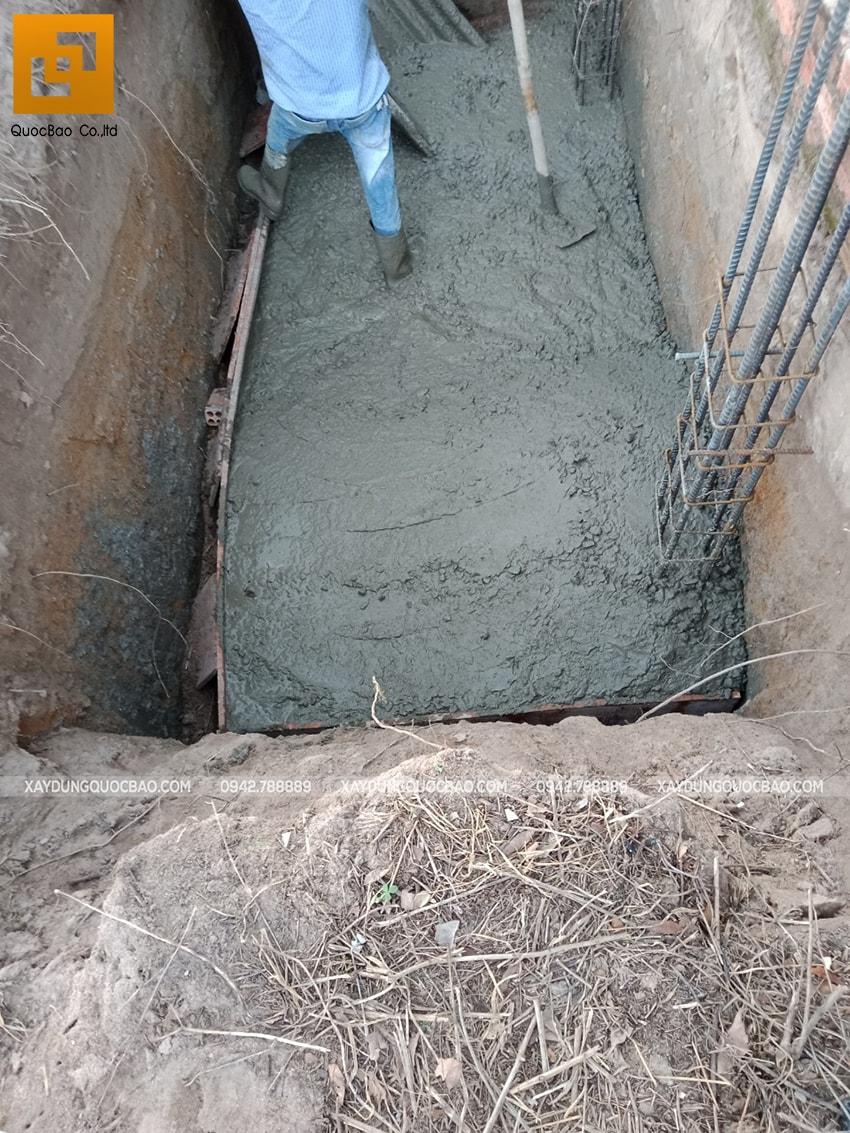 Thi công phần móng nhà 3 tầng tại Nhơn Trạch - Ảnh 9