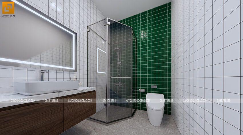 Phòng tắm đứng vách kính trong suốt