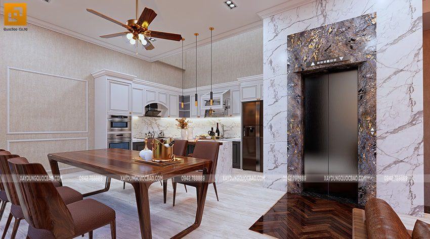 Thiết kế nội thất nhà bếp và nhà ăn - Ảnh 2