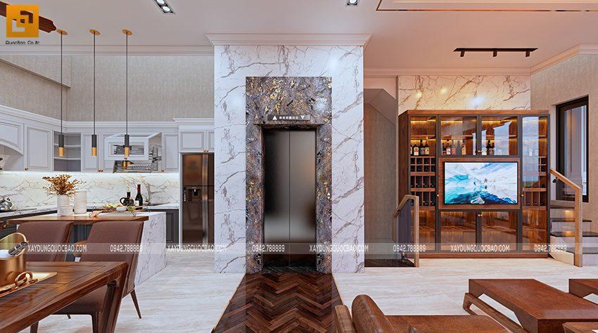 Thiết kế nội thất nhà bếp và nhà ăn - Ảnh 1