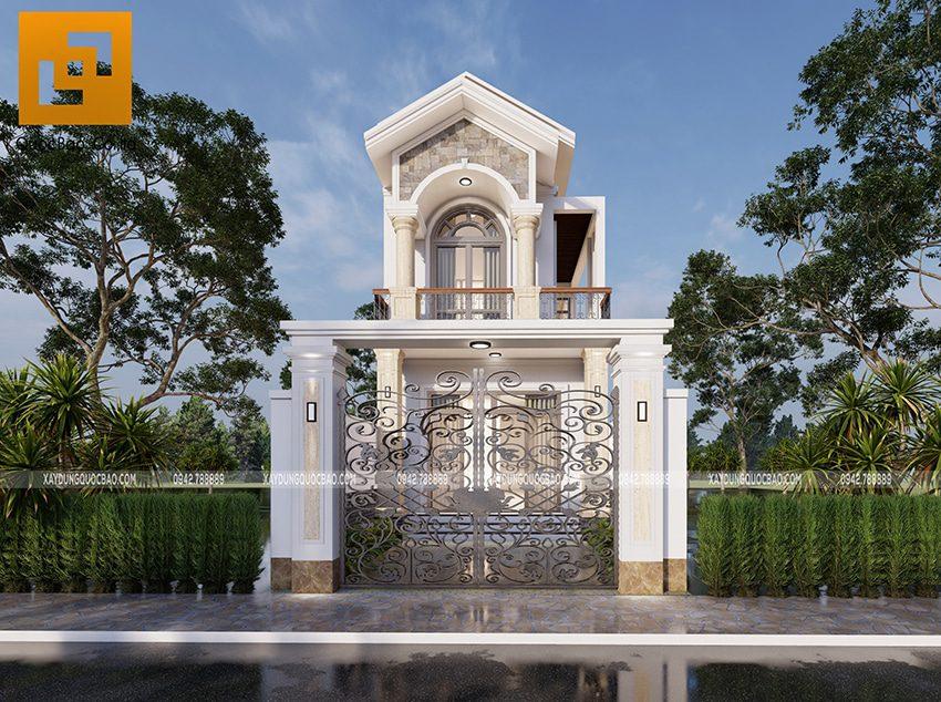 Nhà mái thái đẹp tại Vĩnh Cửu của gia đình anh Nhân