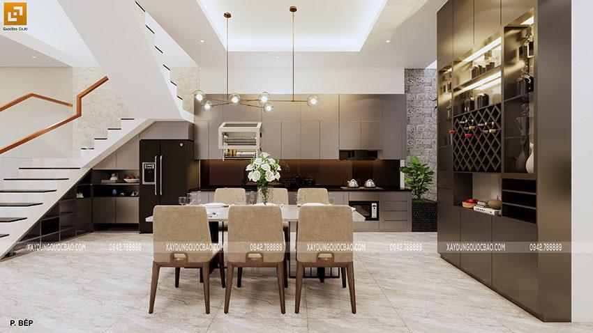 Nội thất nhà bếp và nhà ăn
