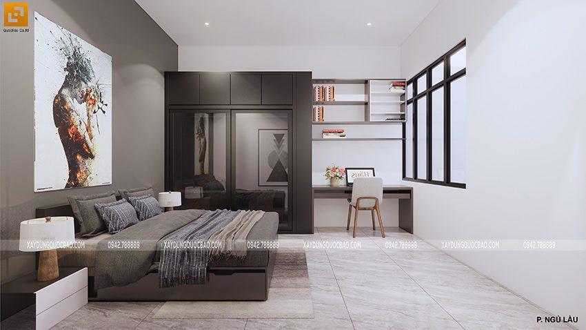 Phòng ngủ đầy đủ tiện nghi tại lầu 1