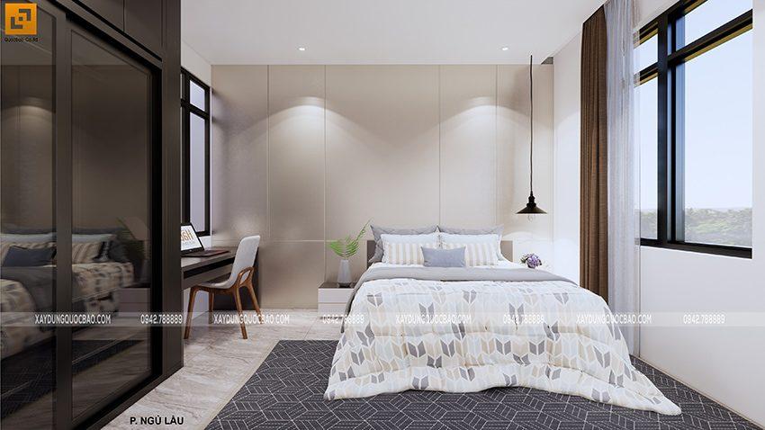 Mỗi phòng ngủ đều mang cá tính riêng của chủ nhân