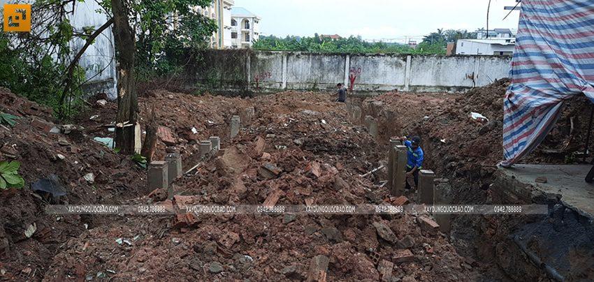 Khởi công nhà mái thái 2 tầng tại Vĩnh Cửu của gia đình anh Nhân - Ảnh 6