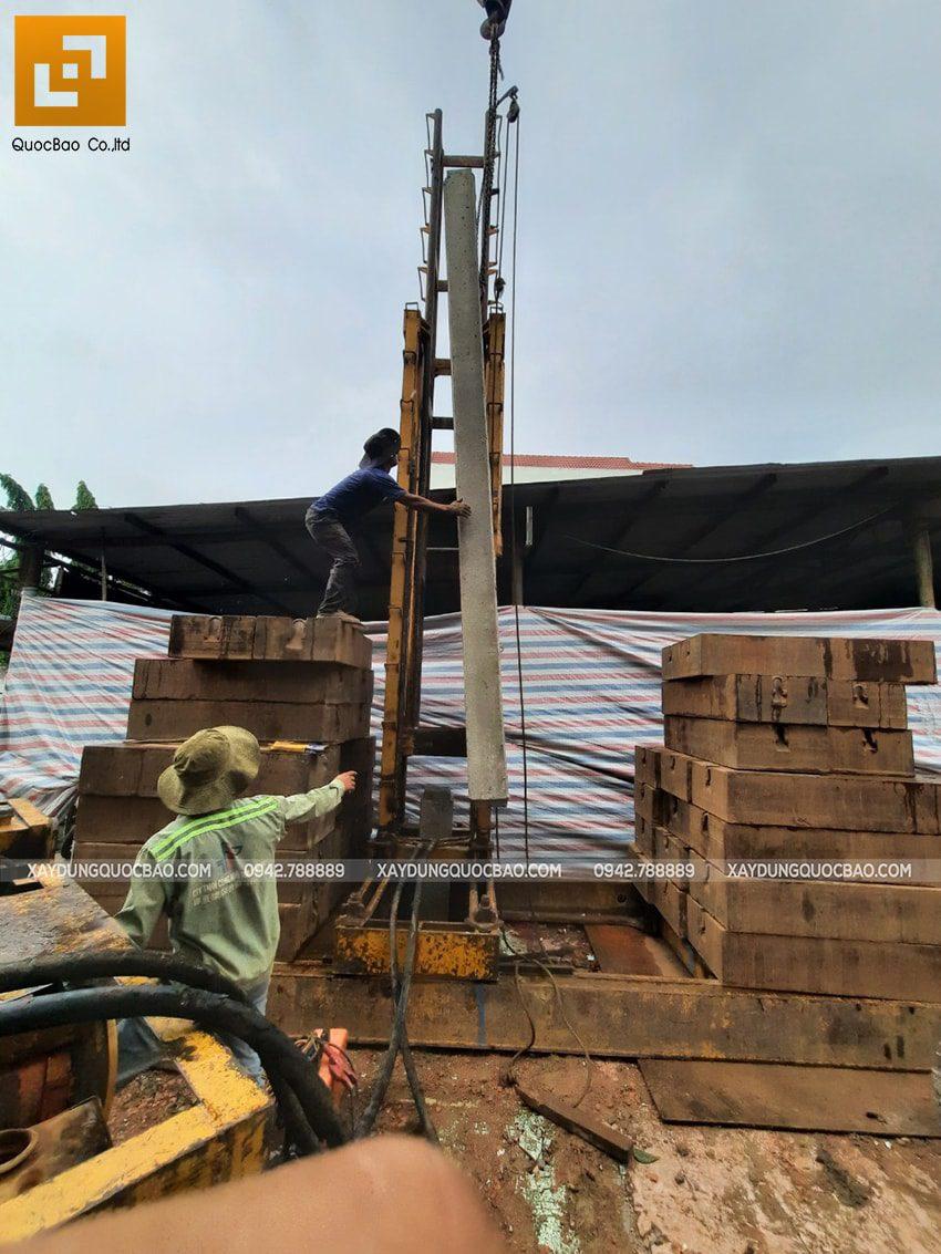 Khởi công nhà mái thái 2 tầng tại Vĩnh Cửu của gia đình anh Nhân - Ảnh 4